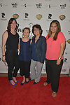 CORAL GABLES, FL - FEBRUARY 28: Janie Valdes, Hazel Hooker, EliZabeth Carrillo and April Lewis attend the Miami Premiere of RatPac Documentary Films One Day Since Yesterday: Peter Bogdanovich and the Lost American Film' followed by Q&A at Miracle Theater inside the Actors Playhouse on February 28, 2017 in Coral Gables, Florida. ( Photo by Johnny Louis / jlnphotography.com )