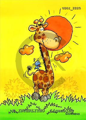 GIORDANO, CHILDREN BOOKS, BIRTHDAY, GEBURTSTAG, CUMPLEAÑOS, humor, paintings+++++,USGI2225,#BI#,#H# ,everyday ,everyday