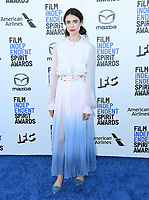 08 February 2020 - Santa Monica - Margaret Qualley. 2020 Film Independent Spirit Awards - Arrivals held at Santa Monica Pier. Photo Credit: Birdie Thompson/AdMedia