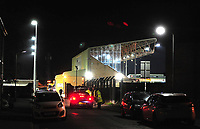 A general view of Sincil Bank, home of Lincoln City FC<br /> <br /> Photographer Andrew Vaughan/CameraSport<br /> <br /> The FA Youth Cup Second Round - Lincoln City U18 v South Shields U18 - Tuesday 13th November 2018 - Sincil Bank - Lincoln<br />  <br /> World Copyright © 2018 CameraSport. All rights reserved. 43 Linden Ave. Countesthorpe. Leicester. England. LE8 5PG - Tel: +44 (0) 116 277 4147 - admin@camerasport.com - www.camerasport.com