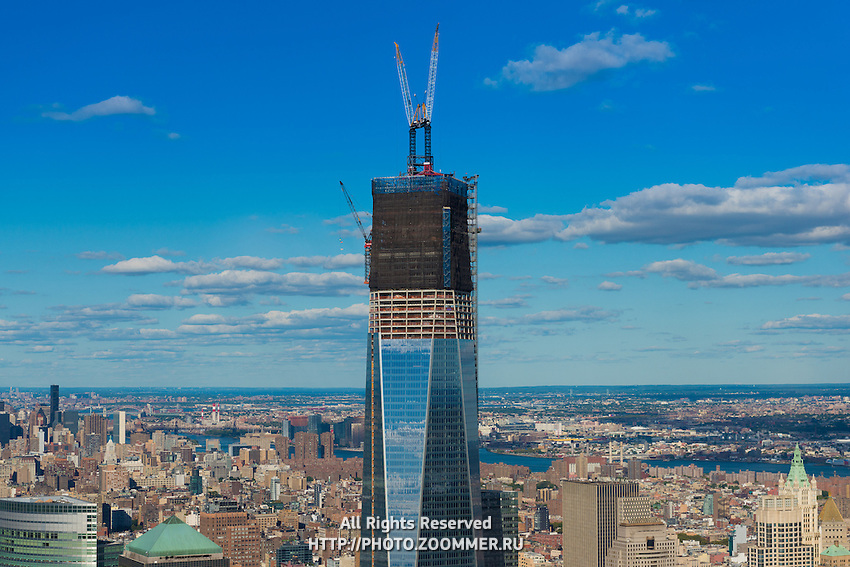 Close-up Of Freedom Tower Construction, New York