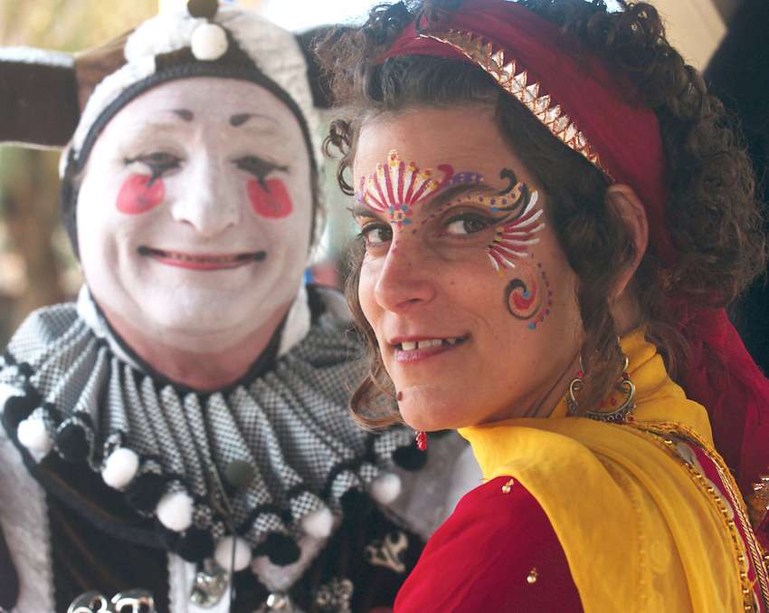 Marna Dannenbaum, face painter for the Arizona Renaissance Festival @ Artisan Marketplace....also The Clan Tynker Elijah Whippo from Sante Fe New Mexico