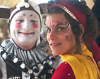 Marna Dannenbaum, face painter for the Arizona Renaissance Festival @ Artisan Marketplace....also The Clan Tynker Elijah Whippo from Sante Fe New Mexico