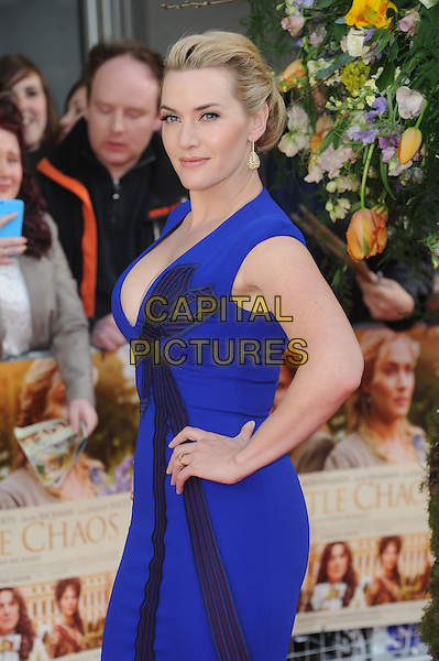 LONDON, ENGLAND - APRIL 13: Kate Winslet attends the UK Premiere of A Little Chaos at Kensington Odeon on April 13, 2015 in London, England.<br /> CAP/BEL<br /> &copy;BEL/Capital Pictures