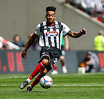 Nathan Arnold of Grimsby Town in action during the 2015 Vanarama Conference Promotion Final match between Grimsby Town and Bristol Rovers at Wembley Stadium, London<br /> Picture by David Horn/eXtreme aperture photography +44 7545 970036<br /> 17/05/2015