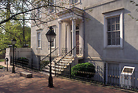 Richmond, Virginia, VA, White House of the Confederacy at The Museum of the Confederacy in downtown Richmond.