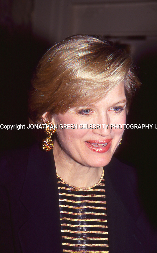 Diane Sawyer 1994 by Jonathan Green