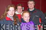 Listowel Wren Boy Competition Night : Pictured at the Wren Boy Competition night in Listowel on Friday night last were Olivia, Norma, Louise & Oliver Quinlan, Clounmacon, Listowel.