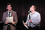 Seth Rudetsky and Marc Shaiman performing at the Seth Rudetsky Book Launch Party for 'Seth's Broadway Diary' at Don't Tell Mama Cabaret on October 22, 2014 in New York City.