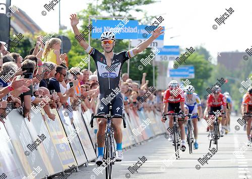 2014-06-07 / Wielrennen / seizoen 2014 / Heistse Pijl / Tom Boonen wint de spurt<br /><br />Foto: mpics.be