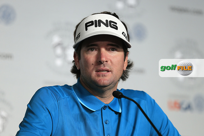 Masters Champion Bubba Watson (USA) press conference during Tuesday's Practice Day of the 2014 US Open Championship held at Pinehurst No.2 Course, Pinehurst, North Carolina, USA. 10th June 2014.<br /> Picture: Eoin Clarke www.golffile.ie