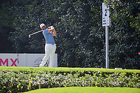 Scott Piercy (USA) watches his tee shot on 2 during round 1 of the World Golf Championships, Mexico, Club De Golf Chapultepec, Mexico City, Mexico. 3/2/2017.<br /> Picture: Golffile | Ken Murray<br /> <br /> <br /> All photo usage must carry mandatory copyright credit (&copy; Golffile | Ken Murray)