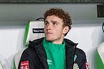 01.12.2019, Volkswagen Arena, Wolfsburg, GER, 1.FBL, VfL Wolfsburg vs SV Werder Bremen<br /><br />DFL REGULATIONS PROHIBIT ANY USE OF PHOTOGRAPHS AS IMAGE SEQUENCES AND/OR QUASI-VIDEO.<br /><br />im Bild / picture shows<br />Ersatzspieler Werder Bremen, <br />Joshua Sargent (Werder Bremen #19), <br /><br />Foto © nordphoto / Ewert