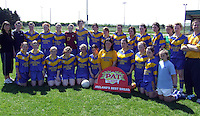 Presentation Secondary School, Miltown  who lost the Munster  Junior Girls Football  to St. Ann's Tipperary