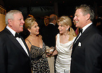 From left: Rich and Nancy Kinder with Frances and Peter Marzio at the Museum of Fine Arts gala Friday Oct. 09,2009. (Dave Rossman/For the Chronicle)