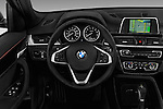 Car pictures of steering wheel view of a 2016 BMW X1 28i 5 Door Suv Steering Wheel