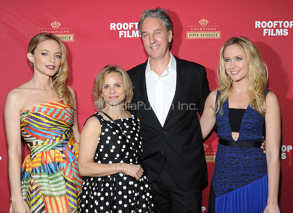 New York, NY- December 8:  Heather Graham, Amy Sedaris,  Angus MacLachian and Anna Camp attend the Rooftop Films and Piper-Heidsieck New York Premiere of 'Goodbye To All That' on December 8, 2014 at the Highland Ballroom in New York City. Credit: John Palmer/MediaPunch