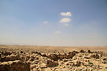 Israel, Negev, Hurvat Uza, site of biblical Kinah