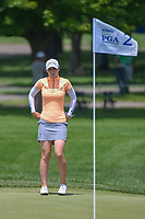 Brittany Altomare (USA) looks over her chip on 2 during round 3 of the 2018 KPMG Women's PGA Championship, Kemper Lakes Golf Club, at Kildeer, Illinois, USA. 6/30/2018.<br /> Picture: Golffile | Ken Murray<br /> <br /> All photo usage must carry mandatory copyright credit (&copy; Golffile | Ken Murray)