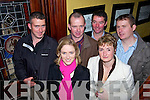 Dairy Farmers enjoying a Christmas night out in the grand hotel, Tralee on Saturday night Danny O'Connell, Mairead Ryan, John King, Marie King and Maurice Driscoll.   Copyright Kerry's Eye 2008