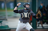James Bell (14) of Clovis North High School in Fresno, California during the Under Armour All-American Pre-Season Tournament presented by Baseball Factory on January 14, 2017 at Sloan Park in Mesa, Arizona.  (Mike Janes/MJP/Four Seam Images)