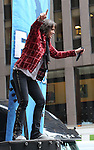 "NEW YORK, NY - JUNE 14:  Kelly Hansen of Foreigner performs at ""FOX & Friends"" All American Concert Series outside of FOX Studios on June 14, 2013 in New York City.  (Photo by Walter McBride/FilmMagic)"