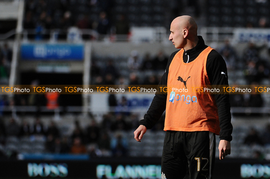 Jonjo Shelvey of Newcastle United during Newcastle United vs Bristol City, Sky Bet EFL Championship Football at St. James' Park on 25th February 2017
