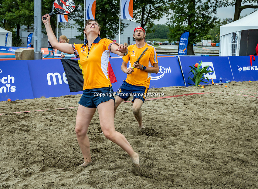 Rosmalen, Netherlands, 15 June, 2019, Tennis, Libema Open, Beachtennis<br /> Photo: Henk Koster/tennisimages.com