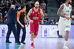 Olympiacos Piraeus Vassilis Spanoulis during Turkish Airlines Euroleague match between Real Madrid and Olympiacos Piraeus at Wizink Center in Madrid , Spain. February 09, 2018. (ALTERPHOTOS/Borja B.Hojas)