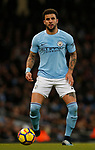 Kyle Walker of Manchester City in action during the premier league match at the Etihad Stadium, Manchester. Picture date 3rd December 2017. Picture credit should read: Andrew Yates/Sportimage