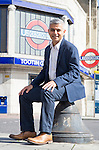 SADIQ KHAN MP FOR TOOTING IN SOUTH LONDON.<br /> NOW OFFICIAL LABOUR PARTY CANDIDATE FOR MAYOR OF LONDON.<br /> INTERVIEW WITH SIMON WALTERS.<br /> 17-9-2015 PIC BY IAN MCILGORM