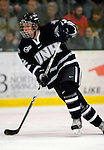 6 January 2007: University of New Hampshire forward Bobby Butler (12) from Marlborough, MA, in action against the University of Vermont Catamounts at Gutterson Fieldhouse in Burlington, Vermont. The UNH Wildcats defeated Vermont 2-1 to sweep the two-game weekend series in front of a record setting 49th consecutive sellout at the Gut...Mandatory Photo Credit: Ed Wolfstein Photo.<br />
