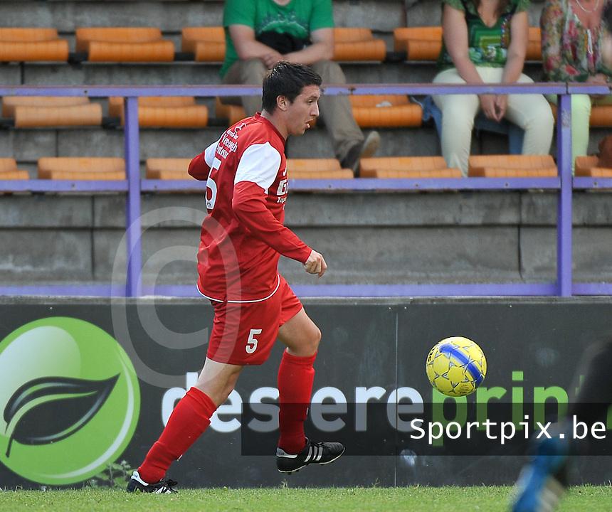FC Langemark : Maarten De Vlieger<br /> foto VDB / Bart Vandenbroucke
