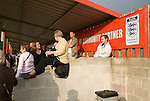 Sheffield FC 1 Hallam 1, 14/10/2006. Coach and Horses Stadium, The worlds oldest derby. Hallam scored a last minute equaliser. Photo by Paul Thompson.