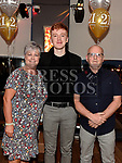 Sean Leahy celebrating his 21st birthday in Brú with parents Jack and Cathy Photo:Colin Bell/pressphotos.ie