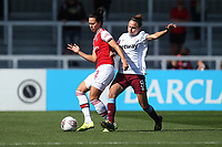 Viktoria Schnaderbeck of Arsenal and Martha Thomas of West Ham during Arsenal Women vs West Ham United Women, Barclays FA Women's Super League Football at Meadow Park on 8th September 2019