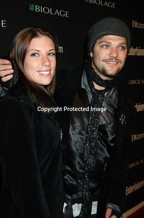 Bam Margera and fiancee Missy Rothstein ..arriving at The 12th Annual Entertainment Weekly Oscar Party on March 5, 2006 at Elaine's. ..Robin Platzer, Twin Images
