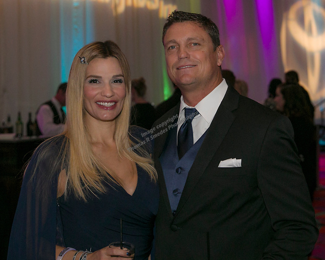 A photograph taken during the 10th Annual Blue Tie Ball at the Peppermill Resort Spa Casino in Reno, NV on Friday night, Feb. 1, 2019.