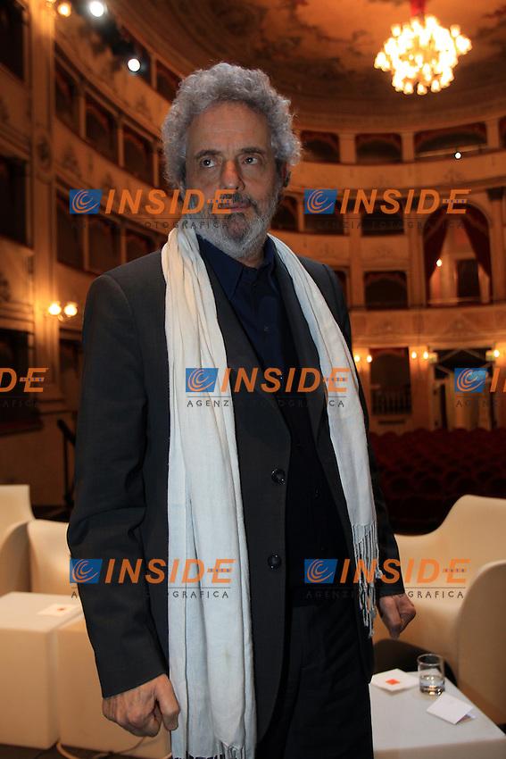 Nicola Piovani.Firenze 31/03/2012 Tetro Goldoni.MELO AROUND THE WORLD.Foto Insidefoto .