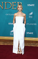 "HOLLYWOOD, CA - FEBRUARY 13: Lauren Lyle, at the Premiere Of Starz's ""Outlander"" Season 5 at HHollywood Palladium in Hollywood California on February 13, 2020. Credit: Faye Sadou/MediaPunch"