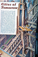 "Utopia:  "" Cities of Tomorrow""   AMAZING STORIES, 1939.  Photo '84."