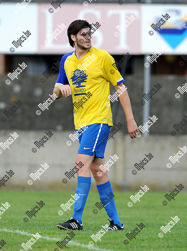 2013-09-14 / Voetbal / seizoen 2013-2014 / Verbroedering Arendonk / Tim Strybosch<br /><br />Foto: Mpics.be