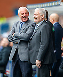 24.3.2018: Rangers legends match:<br /> Walter Smith and Archie Knox