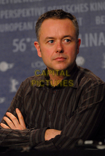 "MICHAEL WINTERBOTTOM.Photocall for """"The Road to Guantanamo"" at the 56th Berlin (Berlinale) Film Festival, Berlin, Germany..February 18th, 2006.Ref: KRA.headshot portrait .www.capitalpictures.com.sales@capitalpictures.com.©Capital Pictures"