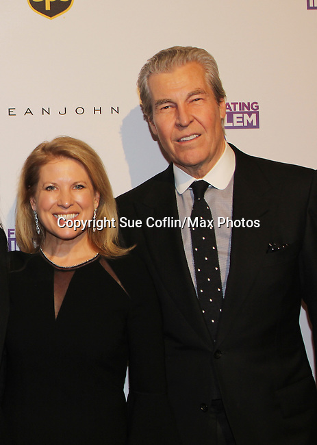 Tina and Terry Lundgren - Figure Skating in Harlem celebrates 20 years - Champions in Life benefit Gala on May 2, 2017 in New York Ciry, New York.   (Photo by Sue Coflin/Max Photos)