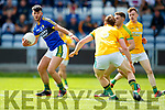 Jeff O'Donoghue Kerry in action against Damien Healy Meath in the All Ireland Junior Football Final at O'Moore Park, Portlaoise on Saturday.