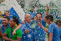 SÃO PAULO, SP, 02.12.2018 - PALMEIRAS-VITÓRIA- Luiz Felipe Scolari, treinador do Palmeiras comemora conquista do Campeonato Brasileiro 2018 após partida contra o Vitória em jogo válido pela 38ª rodada do Campeonato Brasileiro no estádio Allianz Parque em São Paulo, neste Domingo, 02. (Foto: Anderson Lira/Brazil Photo Press)