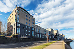 Modern housing, Riverside Drive, Aberdeen.<br /> <br /> Image by: Malcolm McCurrach<br /> Sun, 1, March, 2015 |  © Malcolm McCurrach 2015 |  All rights Reserved. picturedesk@nwimages.co.uk | www.nwimages.co.uk | 07743 719366