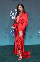 17 November 2019 - Las Vegas, NV - Queen Naija. 2019 Soul Train Awards Red Carpet Arrivals at Orleans Arena. Photo Credit: MJT/AdMedia