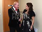 International Soprano Celine Byrne enjoys a joke with Mayor of Drogheda Cllr. W. Frank Godfrey at the Lord Mayor's show in The Barbican Centre. Photo:Colin Bell/pressphotos.ie